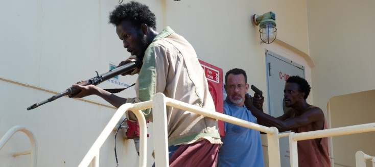 Tom Hanks Takes the Helm in 'Captain Phillips' – 3 Photos