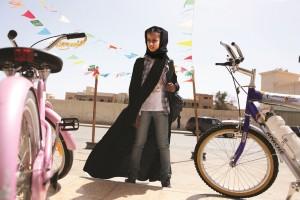 "Waad Mohammed as Wadjda in Haifaa Al Mansour's ""Wadjda."" ©Razor  Films. CR: Tobias Kownatzki."