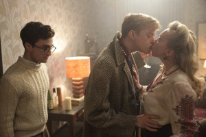 "Left to right: Daniel Radcliffe as Allen Ginsberg and Dane DeHaan as Lucien Carr in ""Kill Your Darlings."" ©Sony Pictures Classics. CR: Jessica Miglio."