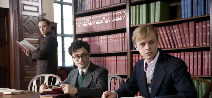 EXCLUSIVE: Daniel Radcliffe Marches to a New Beat in 'Kill Your Darlings' – 3 Photos
