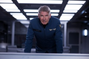 "HARRISON FORD stars in ""ENDER'S GAME."" ©Summit Entertainment. CR: Richard Foreman."