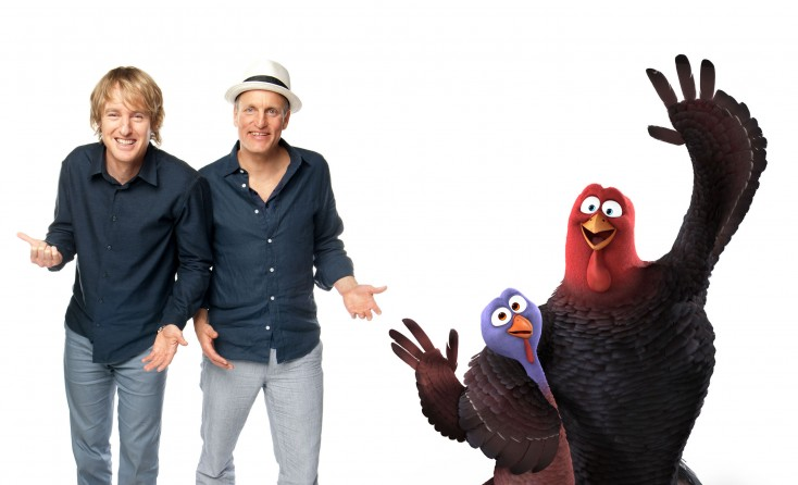Harrelson, Wilson Take Flight with 'Free Birds'