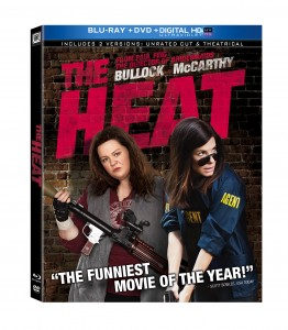 """The Heat"" (Blu-ray / DVD Art). ©20th Century Home Entertainment."