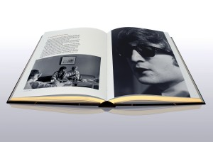 "A shot of two pages from ""Photograph, by Ringo Starr."" ""Photograph, by Ringo Starr, the signed limited edition book of 2,500 copies from www.RingoPhotoBook.com, Tel: +44 (0)1483 540 970, Price $550"""