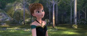 "Kristen Bell voices the character ANNA in """"FROZEN."" 2013 Disney. All Rights Reserved."
