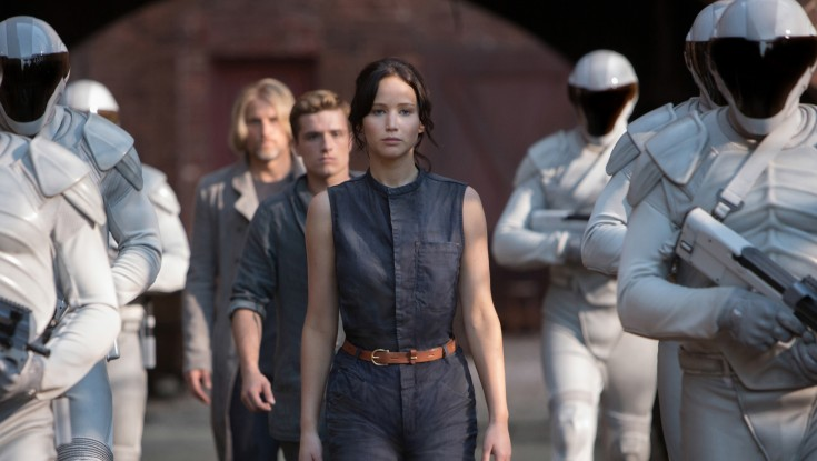 Jennifer Lawrence On Fire in 'Hunger Games' Sequel