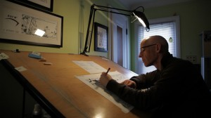 "Jeff Mallett in the documentary ""Dear Mr. Watterson."" ©Fingerprint Films."