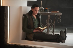 "Loki (Tom Hiddleston) in deep thought in ""Marvel's Thor: The Dark World."" © 2013 MVLFFLLC. TM & © 2013 Marvel. CR: Jay Maidment"
