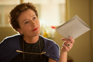 "P.L. Travers (Emma Thompson), in Disney's ""Saving Mr. Banks."" ©Disney Enterprises. CR: Francois Duhamel."
