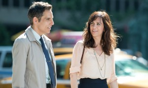 Ben Stiller and Kristen Wiig in THE SECRET LIFE OF WALTER MITTY. ©20th Century Fox. CR: Wilson Webb.