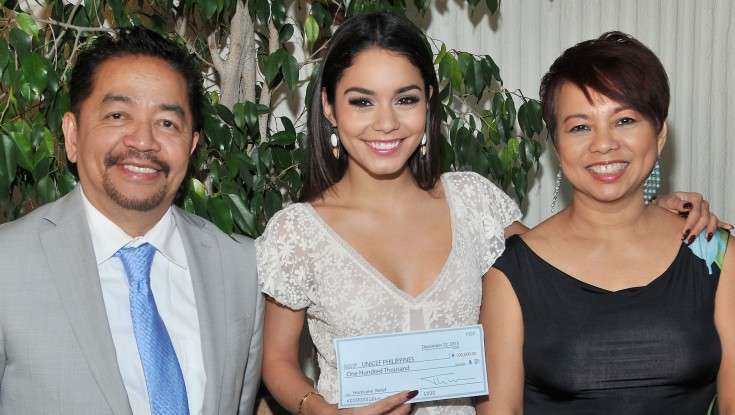 Video: Vanessa Hudgens receives $100k from Golden Globes