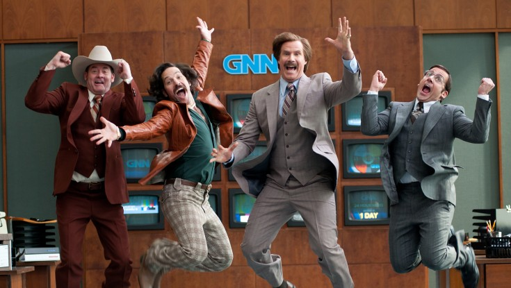 'Anchorman 2' More Adequate Than Legendary – 4 Photos
