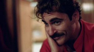 Joaquin Phoenix stars as Theodore in HER. ©Untitled Rick Howard Company, LLC.