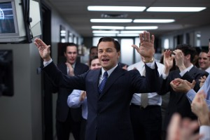 Leonardo DiCaprio is Jordan Belfort in THE WOLF OF WALL STREET. ©Paramount Pictures. CR: Mary Cybulski.