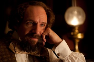 Ralph Fiennes as Charles Dickens in THE INVISIBLE WOMAN. ©Sony Pictures Classics. CR: David Appleby.