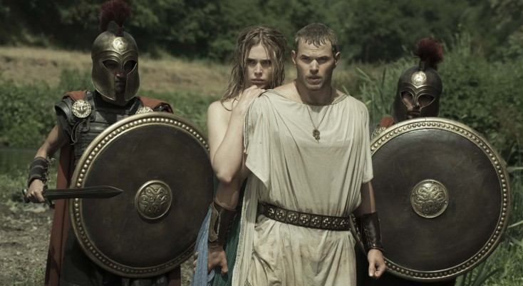 Lutz Suits Up for 'Hercules' – 4 Photos