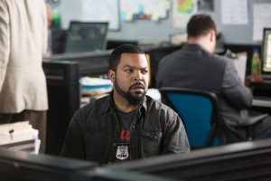 "James (ICE CUBE) in ""Ride Along."" ©Universal Pictures. CR: Quantrell D. Colbert."