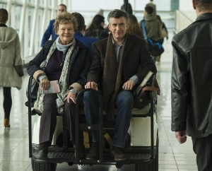 JUDI DENCH and STEVE COOGAN star in PHILOMENA. ©The Weinstein Company. CR: Alex Bailey.