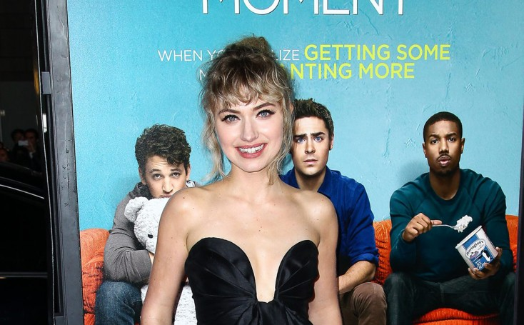 EXCLUSIVE: A 'Moment' with Imogen Poots – 3 Photos
