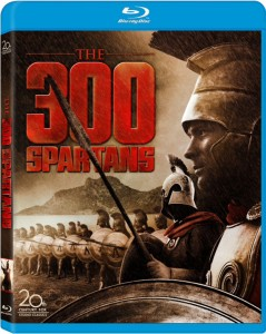 THE 300 SPARTANS (Blu-ray /DVD Art). ©20th Century Fox Home Entertainment.
