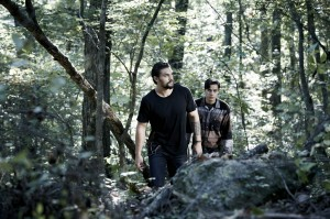 "(l-r) Jason Momoa and Kiowa Gordon star in ""The Red Road."" ©Sundance TV. CR: James Minchin"