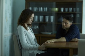 "(l-r) Julianne Nicholson and Martin Henderson star in the Sundance Channel original series ""The Red Road."" ©Sundance TV. CR:  James Minchin."