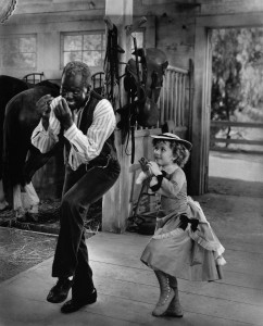 "Bill ""Bojangles"" Robinson and Shirley Temple tap danced together in various films. ©20th Century Fox Home Entertainment."