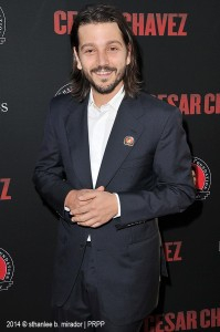"Diego Luna arrives at the Hollywood premiere of ""Cesar Chavez"" held at the TCL Chinese Theatre in Hollywood, Ca on Thursday, March 20, 2014. ©Sthanlee B. Mirador/Front Row Features Wire."
