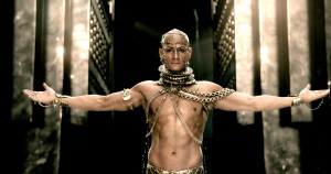 RODRIGO SANTORO reprises his role as Xerxes in 300: RISE OF AN EMPIRE. ©Warner Bros. Entertainment/Legendary Pictures Funding, LLC.