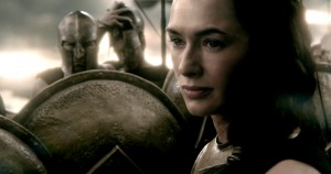 LENA HEADEY as Queen Gorgo in 300: RISE OF AN EMPIRE. ©Warner Bros. Entertainment/Legendary Pictures LLC.