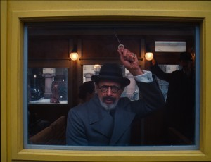 Jeff Goldblum stars as Vilmos Kovacs in THE GRAND BUDAPEST HOTEL. ©20th Century Fox.