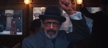 Jeff Goldblum Checks in at 'Grand Budapest Hotel'