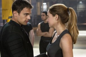 THEO JAMES and SHAILENE WOODLEY star in DIVERGENT. ©Summit Entertainment. CR: Jaap Buitendijk.