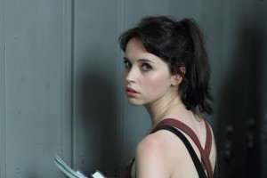 "Felicity Jones in ""BREATHE IN."" ©Cohen Media Group."