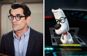 Ty Burrell voices Mr. Peabody in MR. PEABODY AND SHERMAN. ©Dreamworks Animations / Ward Productions.