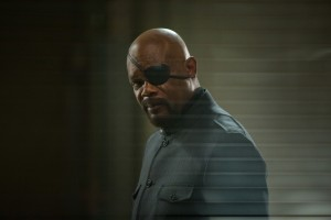"Nick Fury (Samuel L. Jackson)  in ""Marvel's Captain America: The Winter Soldier."" ©Marvel. CR: Zade Rosenthal. Ph: Zade Rosenthal © 2014 Marvel. All Rights Reserved."