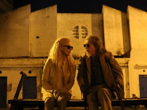 "Tilda Swinton as Eve and John Hurt as Marlowe in ""Only Lovers Left Alive."" ©Sony Pictures Classics. CR: Sandro Kopp."
