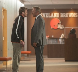 DENIS LEARY and KEVIN COSTNER star in DRAFT DAY. ©Summit Entertainment, LLC. CR: Dale Robinette.