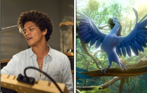 Bruno Mars joins the cast of RIO 2 as Roberto. ©20th Century Fox.
