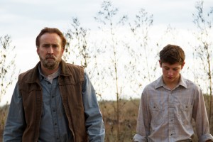 Nicolas Cage and Tye Sheridan in David Gordon Green's JOE. ©Roadside Attractions. CR: Ryan Green.