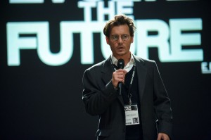 Johnny Depp as Will Caster in TRANSCENDENCE. ©Warner Bros. Entertainment. CR Peter Mountain.