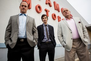(l-r) Christopher Meloni, Devon Bostick and Dean Norris star in 'Small Time.' ©Anchor Bay.