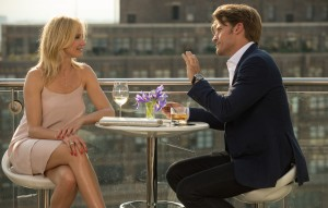 Carly (Cameron Diaz) and Mark (Nikolaj Coster-Waldau) enjoy a friendly drink - but it´s only the calm before she and her friends unleash a storm upon him in THE OTHER WOMAN. ©20th Century Fox. CR: Barry Wetcher.