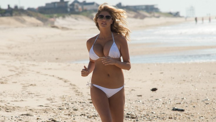 Kate Upton Plays the Other 'Other Woman' – 4 Photos