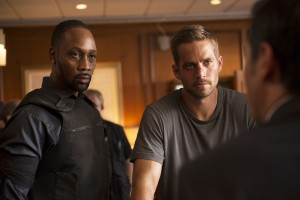 (l-r) RZA and Paul Walker star in Relativity Media's BRICK MANSIONS. © 2013 EUROPACORP /BRICK MANSIONS, INC. CR: Philippe Bosse'