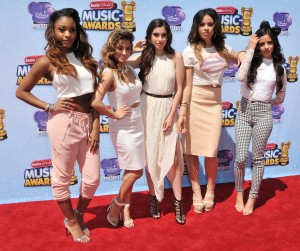 Fifth Harmony at the 2014 Radio Disney Music Awards held at the Nokia Theatre L.A. Live in Los Angeles, CA. The event took place on Saturday, April 26, 2014. Photo by PRPP_PRPP.