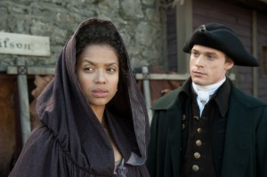 (l-r) Gugu Mbatha-Raw and Sam Reid star in BELLE. ©Fox Searchlight. CR David Appleby.