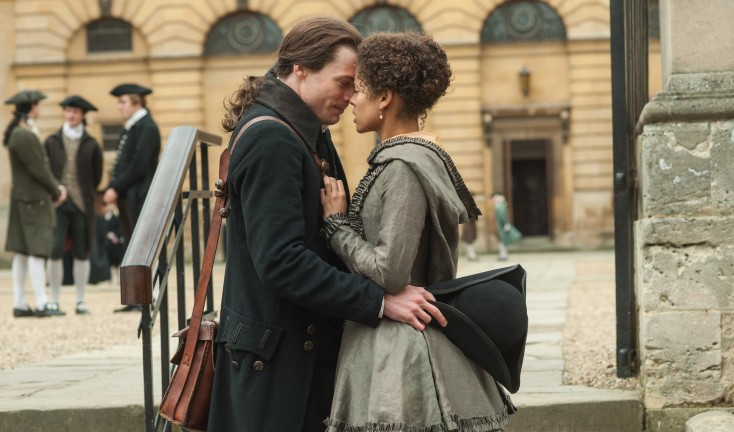 EXCLUSIVE: Sam Reid Plays Progressive in Historic 'Belle' – 3 Photos