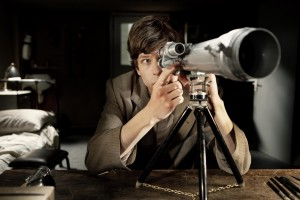 Jesse Eisenberg in THE DOUBLE, a Magnolia Pictures release. ©Magnolia Pictures. CR: Dean Rodgers