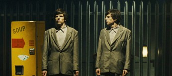 Eisenberg Brilliantly Bedeviled in 'The Double'